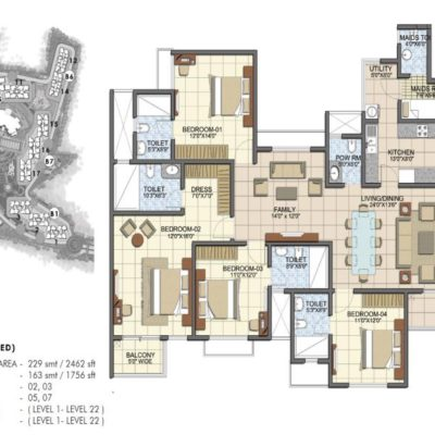 prestige-song-of-south-4-bhk-floor-plan