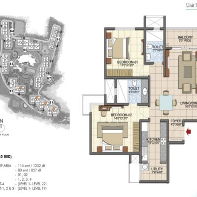 prestige-song-of-south-bangalore-floor-plan